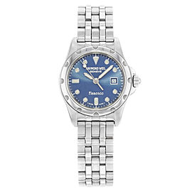 Raymond Weil Flamenco Stainless Steel Blue Dial Quartz Ladies Watch 5370S-BLU