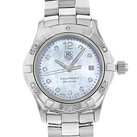 Tag Heuer Aquaracer WAF1419.BA0824 27mm Womens Watch
