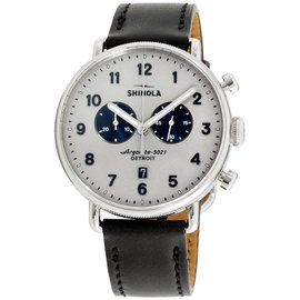 Shinola The Canfield 20065285 43mm Mens Watch