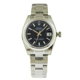 Rolex Datejust 178240 31mm Stainless Steel Blue Index Oyster Watch