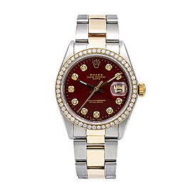 Rolex Oyster Perpetual 1505 34mm Womens Watch