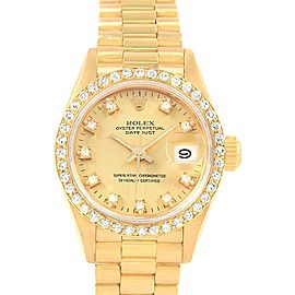 Rolex President Datejust 20116 26mm Womens Watch