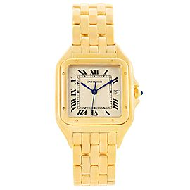 Cartier Panthere W25014B9 29mm Mens Watch