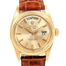 Rolex President Day-Date 1802 Vintage 36mm Mens Watch