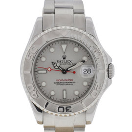 Rolex 168622 Midsize Yachtmaster 35mm Stainless Steel Platinum Watch