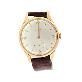 Zenith 18K Rose Gold Mens Watch