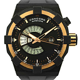 Concord C1 World Timer Rose Gold Watch