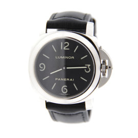 Panerai PAM002 Luminor Manual Wind Stainless Steel Watch
