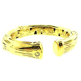 John Hardy 18K Yellow Gold Bamboo Bangle