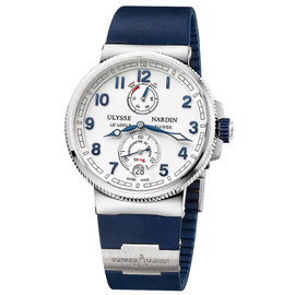 Ulysse Nardin Marine Chronometer 1183-126-3/60 Steel 43mm Watch