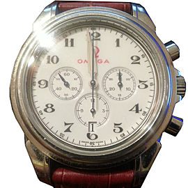 Omega De Ville Co Axial Chronograph Olympic Series Rome 1960 Stainless Steel 41mm Watch