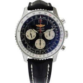 Breitling ab012012/bb02 Navitimer 01 Chronograph Black Dial 43mm Men's Watch