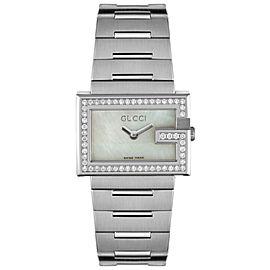 Gucci YA100510 Diamond Stainless Steel Watch