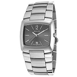 Gucci YA085305 Silver Dial Stainless Steel Watch