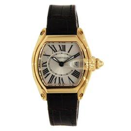 Cartier Roadster W62018Y5 18K Yellow Gold Women Watch