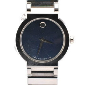 Movado Sapphire 89.C1.1841 Stainless Steel Blue Dial Womens Watch