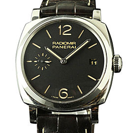 Panerai PAM00514 Radiomir Black Brown Leather Mens Watch 47mm