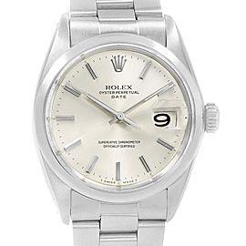 Rolex Date 1500 Vintage 35mm Mens Watch
