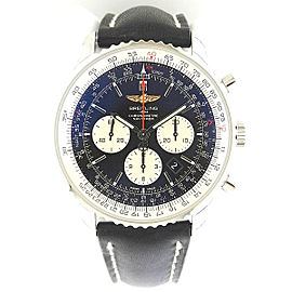 Breitling Navitimer 01 Chrono ab012721/bd09-1ld Stainless Steel Black Dial 46mm Watch