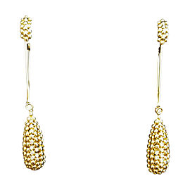 H. Stern 18K Yellow Gold Brazilian Made Earrings