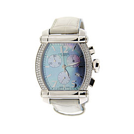 Charriol Columbus 060T Stainless Steel Diamond Chronograph Watch
