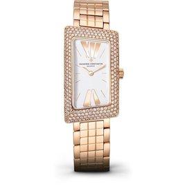 Vacheron Constantin 25515/u01r-9254 Cambree 1972 Rose Gold 37.7mm X 21mm Watch