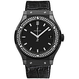 Hublot Classic Fusion 581.cm.1171.lr.1104 Quartz Diamonds Ceramic 33mm Watch