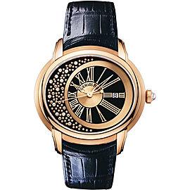 Audemars Piguet Millenary Morita 15331OR.OO.D002CR.01 18K Rose Gold Automatic Watch
