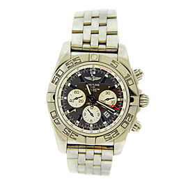 Breitling Chronomat 44 GMT AB041012/Q586 Brown Dial Stainless Steel Mens Watch