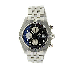 Breitling Galactic Chronograph II A1336410/B719 Stainless Steel Mens Watch