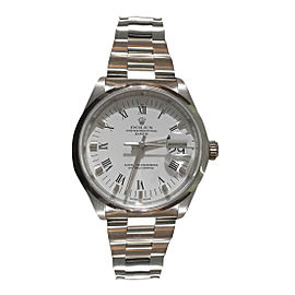 Rolex Datejust 15200 Stainless Steel White Dial 34mm Mens Watch