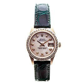 Rolex Datejust 79178 18k Yellow Gold Diamond Bezel Mother of Pearl Dial Automatic 26mm Watch