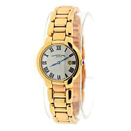 Raymond Weil Jasmine Rose Gold Tone Stainless Steel 29mm Womens Watch
