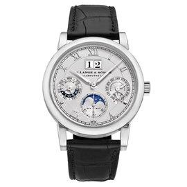 A. Lange & Sohne Langematik 310.025 Platinum 38.5mm Mens Watch