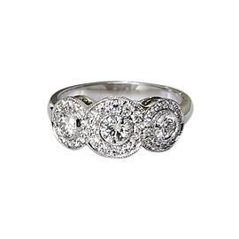 Platinum Tiffany & Co. Circlet 0.55 cts Diamonds Engagement Ring