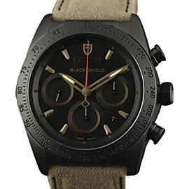 Tudor Fastrider Blackshield 42000CN Ceramic Black & Bronze Dial 42mm Mens Watch