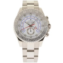 Rolex Yacht-Master II 116689 White Gold White Dial Automatic 44mm Mens Watch