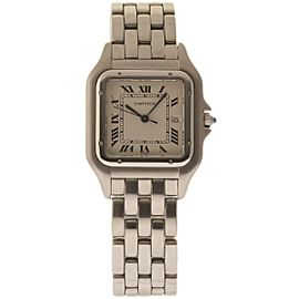 Cartier Panthere W25032P5 Stainless Steel 29mm Womens Watch