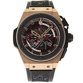 Hublot King Power Miami Heat 748.OM.1123.RX Rose Gold 48mm Mens Watch