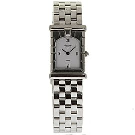 Van Cleef & Arpels Facade Paris Stainless Steel 30mm Womens Watch