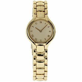 Ebel Beluga 884960 18K Yellow Gold Quartz 24mm Womens Watch