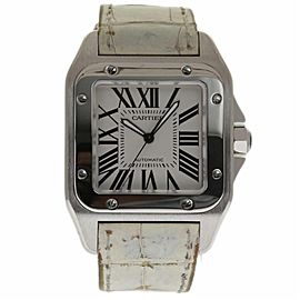 Cartier Santos 100 W20073X8 Stainless Steel 41mm Unisex Watch