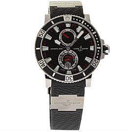 Ulysse Nardin Maxi Marine Diver 263-90-3/72 Titanium / Rubber 45mm Mens Watch