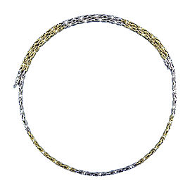 Bulgari 18K Yellow and White Gold Necklace