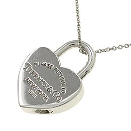 Tiffany Return to Heart Lock Necklace