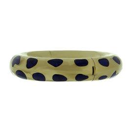Tiffany & Co. By Angela Cummings 18K Yellow Gold & Lapis Lazuli Bracelet
