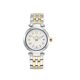 Giorgio Milano 971STG02 Two Tone Stainless Steel White Dial Quartz 39mm Unisex Watch