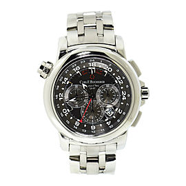 Carl F. Bucherer Patravi TravelTec 00.10620.08.33.21 Stainless Steel Automatic 47mm Mens Watch