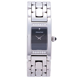 Audemars Piguet Promesse B69213 Stainless Steel Black Dial 35mm Womens Watch