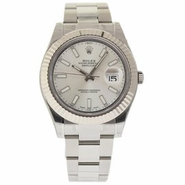 Rolex Datejust II 116334 Stainless Steel/18K White Gold Automatic 41mm Mens Watch